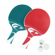 Cornilleau Tacteo Duo Pack (kompozit) kültéri pingpong ütő szett labdával