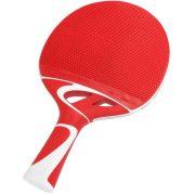 Cornilleau Tacteo 50 kültéri pingpong ütő piros/fehér ultra időjárásálló Skin+