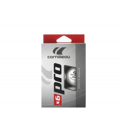 Cornilleau Pro White 6db pingpong labda (fehér)