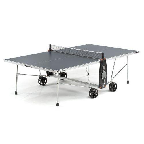 Cornilleau 100 S Crossover outdoor SZÜRKE kültéri pingpong asztal (Csillogásmentesített asztallapokkal)