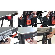 Cornilleau 600X kültéri pingpong asztal FEKETE premium Mat Top asztallappal