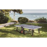 Cornilleau 600X kültéri pingpong asztal KÉK Mat Top asztallappal