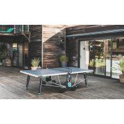 Cornilleau 400X kültéri ping-pong asztal SZÜRKE csillogásmentesített asztallappal