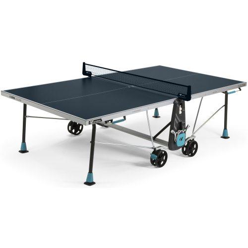 Cornilleau 300X pingpong asztal kültérre KÉK csillogásmentesített asztallappal