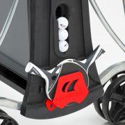 Cornilleau Black Code fekete színű limitált szériás pingpong asztal