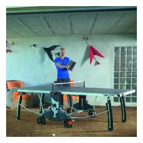 Beltéri ping pong asztal